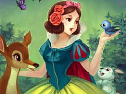 迪士尼白雪公主