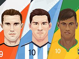 2014世界杯球星卡