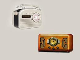 收音机临摹写实练习