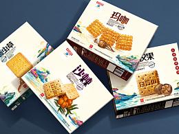 【广药白云山】功能性饼干包装设计