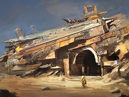 概念-废墟与遗迹结合