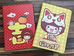 哈咪猫、摩丝摩丝、油爆叽丁春节版iPad保护套