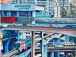 重庆牛角沱轻轨站