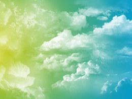 简洁舒服的天空壁纸(宽屏)