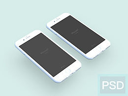 iPhone 7 mockup 【PSD】