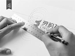 灵韵杉标志设计分享