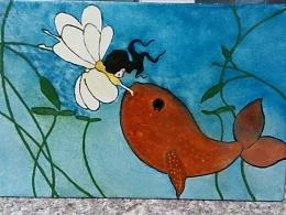新彩瓷板画