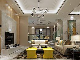 室内设计效果图-海伦春天