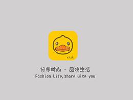 B.Duck品牌手机购物APP设计