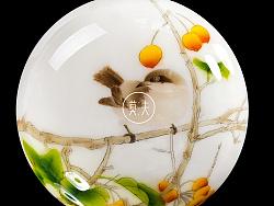 莫夫教室——工笔花鸟画蛋糕欣赏