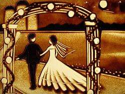 婚礼沙画原创视频