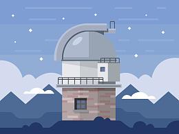 天文台临摹
