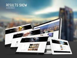 新版改造 江苏鲁艺装饰公司 网站 设计效果