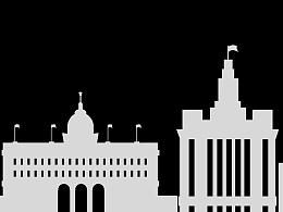 上海 万国建筑群 剪影