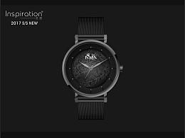 时尚腕表设计