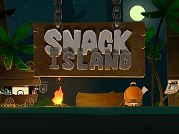 SnackIsland游戏设计(原画,人设,UI)