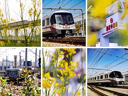 城市春天的地下铁