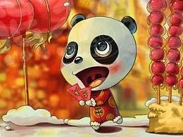 熊猫虾系列--场景