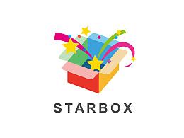 围绕 STAR BOX 做的几个logo