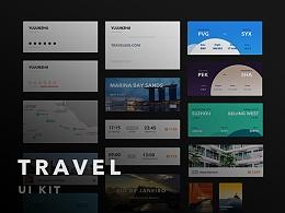TRAVEL UI KIT - 旅行出游类