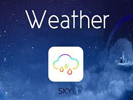 天气APP原创设计