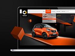 奔驰smart (WEB+VISION )设计 by 桌松