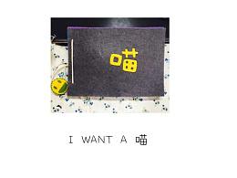 《I want A 喵》原创手工绘本