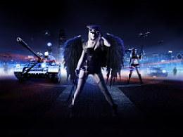 黑天使军团
