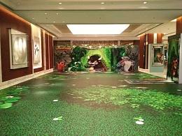 北京梦幻森林3D地贴主题乐园4D全景画