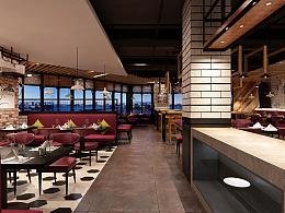 牛排餐厅设计