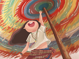 周绘。一个人旅行西藏篇
