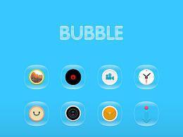 图标:Bubble(气泡)