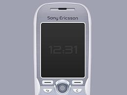 日常UI练习-怀旧手机临摹