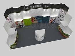 可拆卸式展柜、可拆装式展架设计