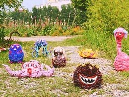 溺溺的怪兽王国,艺术玩偶