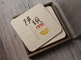 陕坝美食节logo设计