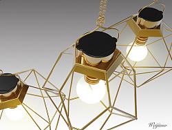 c4d制作太阳能灯具(公司产品)
