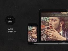 J.D.V 复古风男装品牌整合提案设计