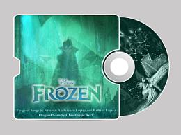 Frozen原声大碟 原创CD封面
