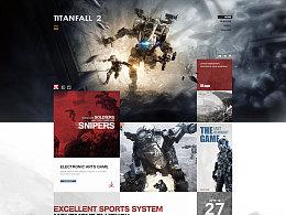 泰坦陨落2网页页面设计