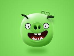 a green pig(临摹作品)