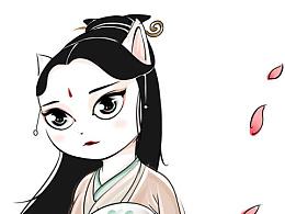 喵化:三生三世十里桃花