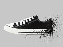 鞋子喷溅练习