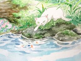 我爱猫系列~<<四季乐园>><<日落>>