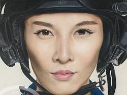 真男肖像系列-张蓝心