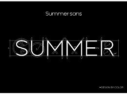 summer sans