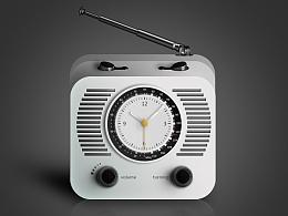 临摹调频收音机【再丑的菇娘也要见公婆】
