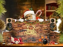 圣诞海报,圣诞banner,海报合成个人爱好