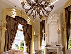 东方普罗旺斯别墅室内设计