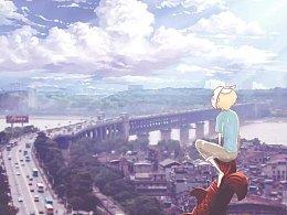 武汉·天空中的少年
